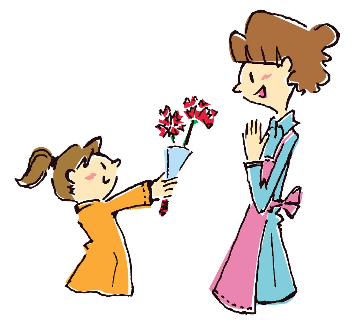 母の日にカーネーションを贈る意味とは?色は必ず赤?花言葉は?