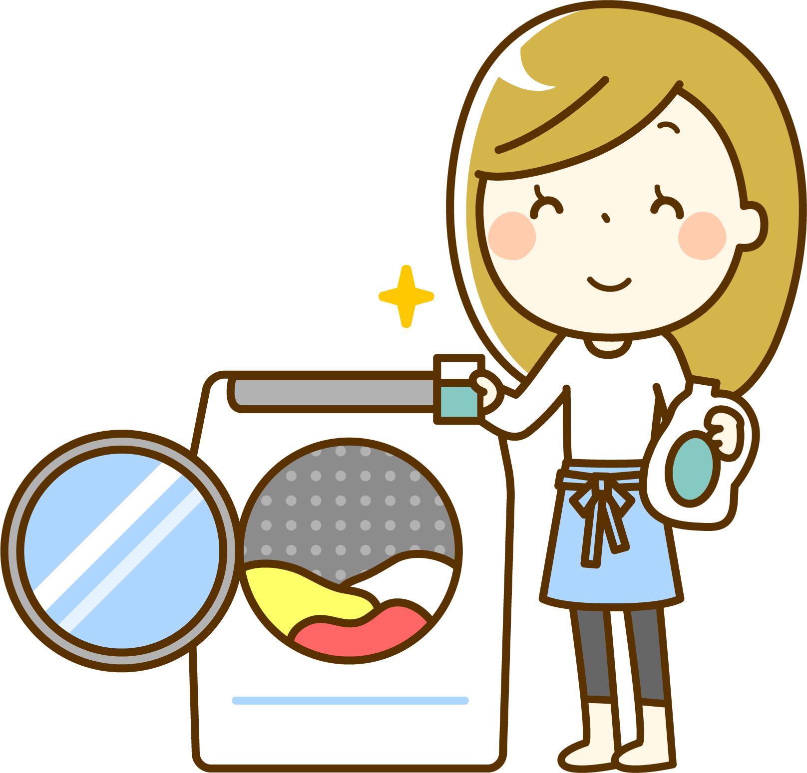 ドラム式洗濯機の中が臭い原因と、対策術は?洗濯槽の効果的な掃除って?
