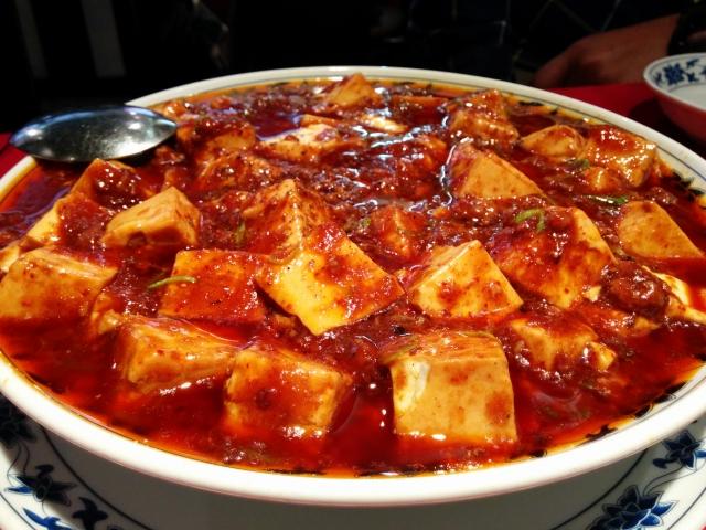 冷凍豆腐を使って麻婆豆腐