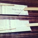 割り箸入れを折り紙で作る方法?折り方は?爪楊枝入れもできる?