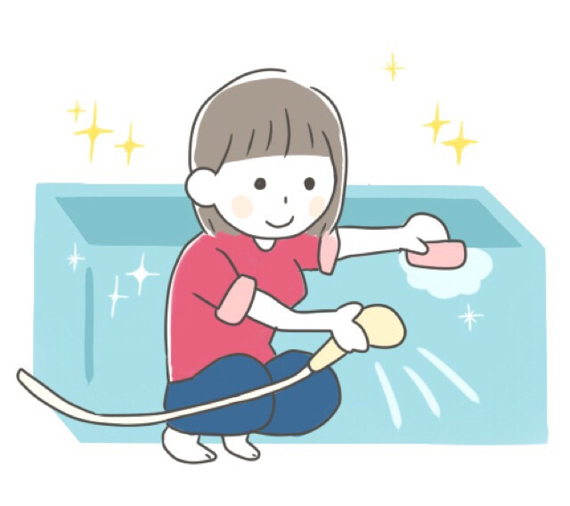 お風呂場の排水口の簡単掃除法!シャワーヘッドの洗い方は?