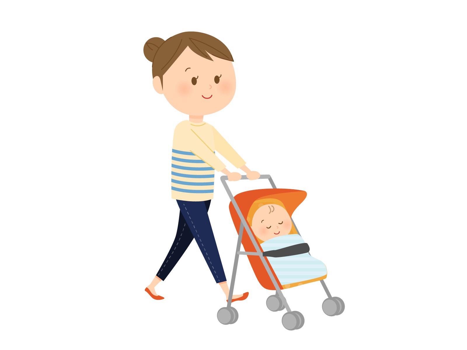 産後ダイエットはいつから始める?ベビーカーウォーキングの効果と、歩き方のポイントは?