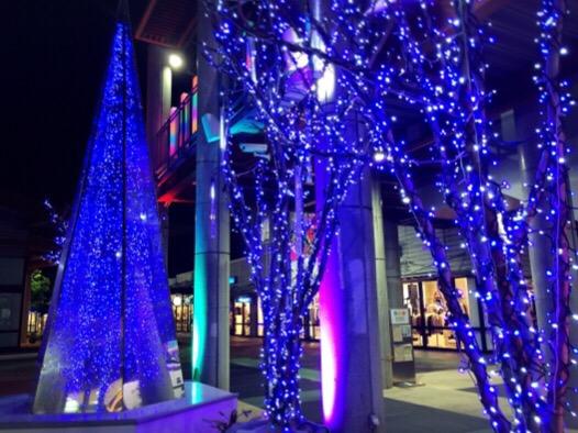 アウトレットモールあしびなーのイルミネーションの感想!沖縄に雪が降る?クリスマスのイベントは?