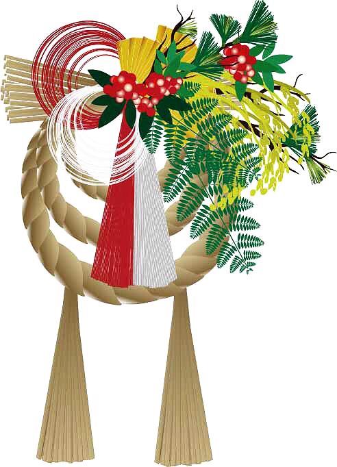 正月飾りはいつ飾る?しめ縄の意味は?玄関のドアに飾る方法は?